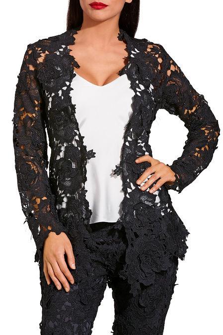 Open lace jacket image