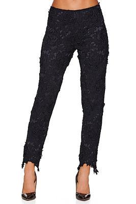 Open lace pant