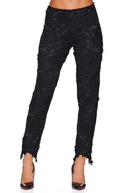 Open lace pant image