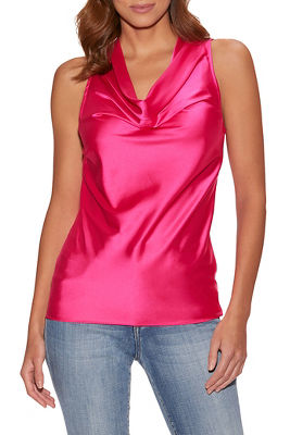 Display product reviews for Marilyn cowl neck blouse