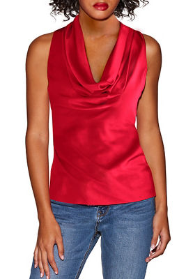 Marilyn cowl neck blouse