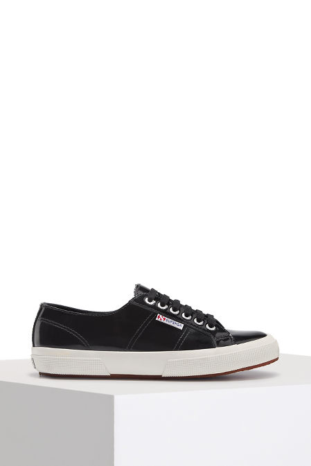 Patent leather sneaker image