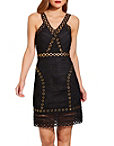 Grommet And Lace Dress Photo