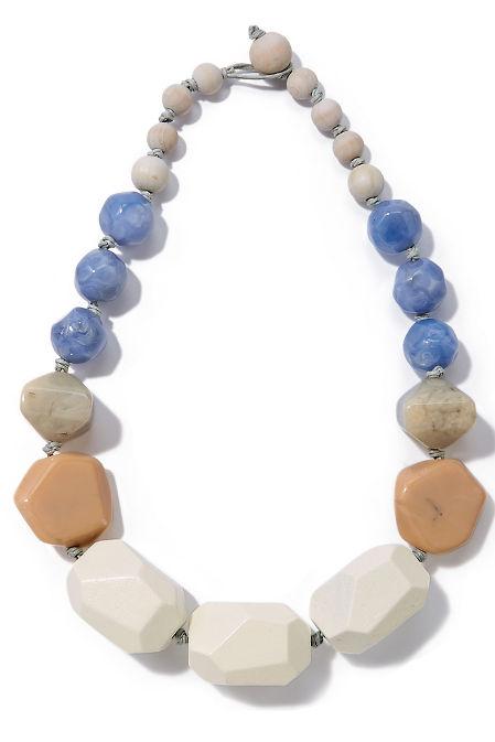 Stone statement necklace image