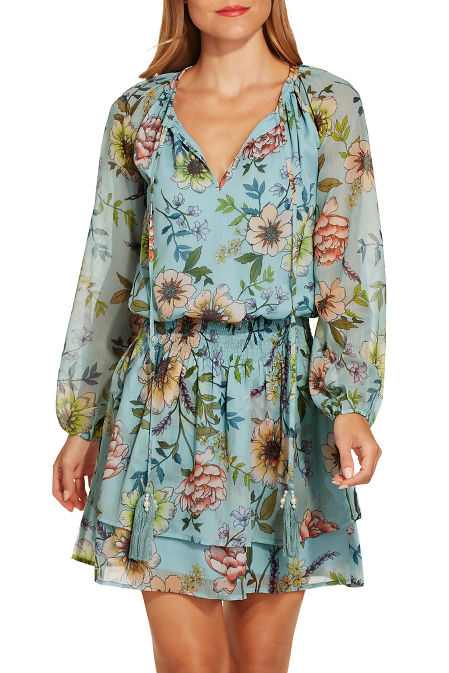 Allover floral dress image