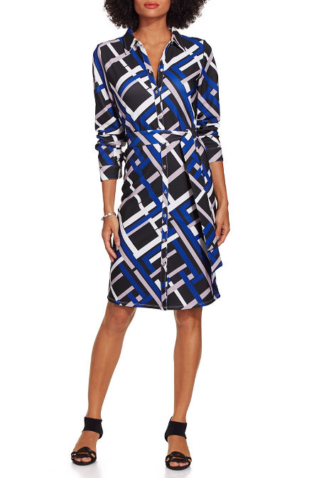 Beyond travel™ getaway geo dress image