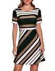 Beyond Travel™ Neo Stripe Dress Photo