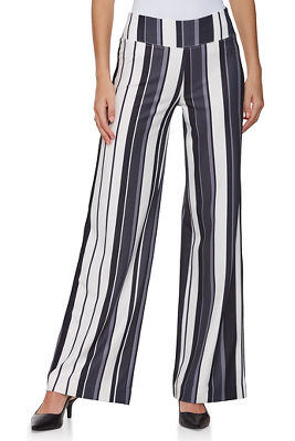 Display product reviews for Beyond travel™ neo stripe palazzo pant