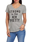 Strong Is The New Pretty Tee Photo