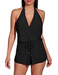 Swim Crossover Romper Photo