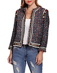 Tassel Tweed Jacket Photo