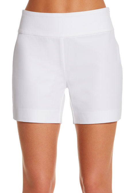 Everyday side zip twill five inch short image