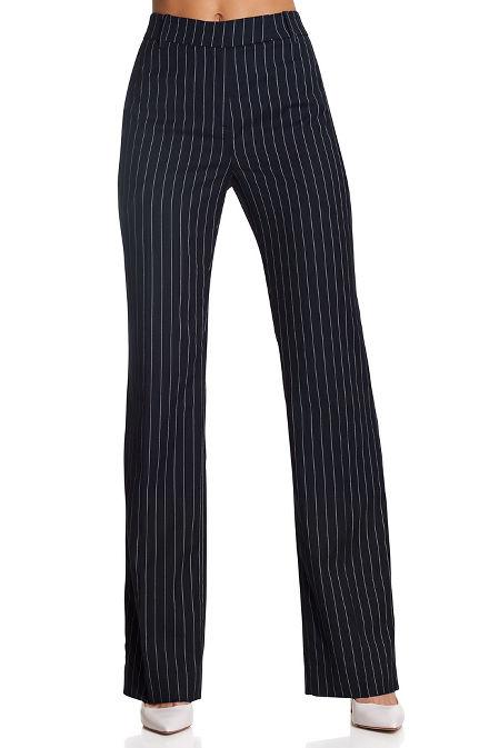 Pinstripe trouser image