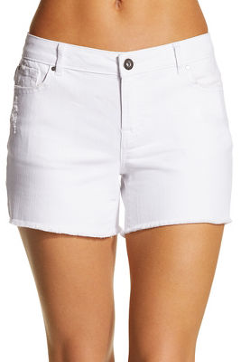 cut-off denim short