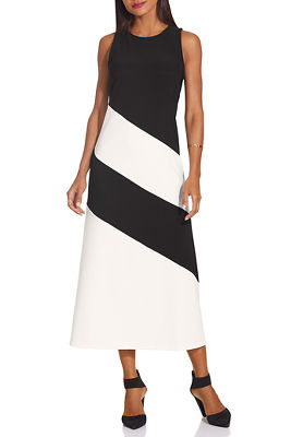 Beyond travel™ high neck midi dress