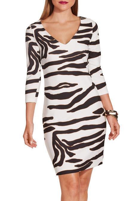 Beyond travel™ zebra dress image