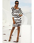 Beyond Travel™ Zebra Dress Photo
