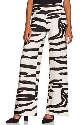 Display product reviews for Beyond Travel™ Zebra Palazzo Pant