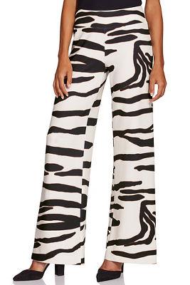 Beyond Travel™ Zebra Palazzo Pant