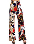 Nautical Print Palazzo Pant Photo