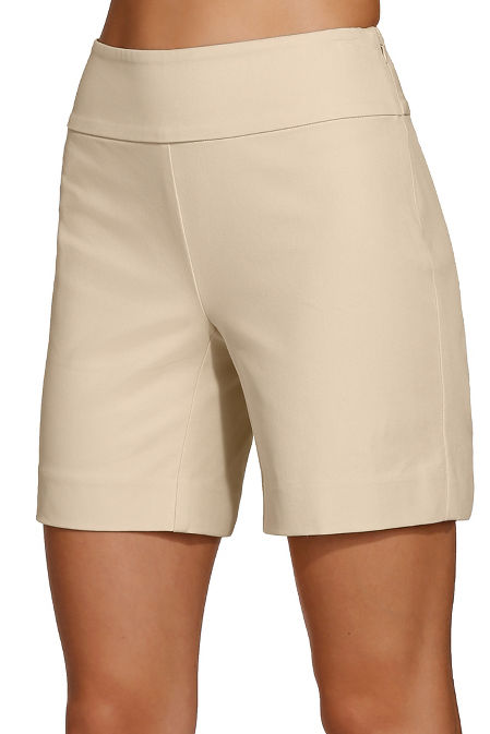 Everyday side zip twill seven inch short image