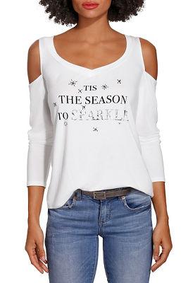 tis the season to sparkle tee