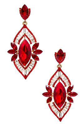 Elegant holiday earrings