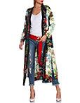Floral Printed Kimono Photo