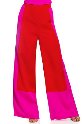 Charm colorblock pant