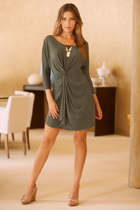 Knot casual dress image