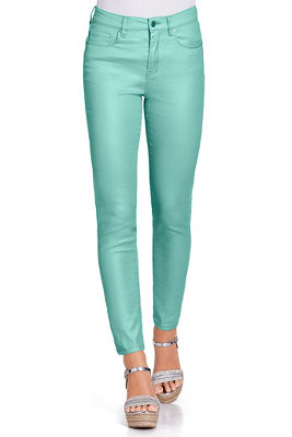 metallic shine jean