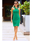 Ponte Ring Sheath Dress Photo