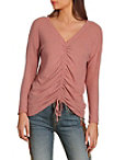 So Soft Ruched Front Top Photo