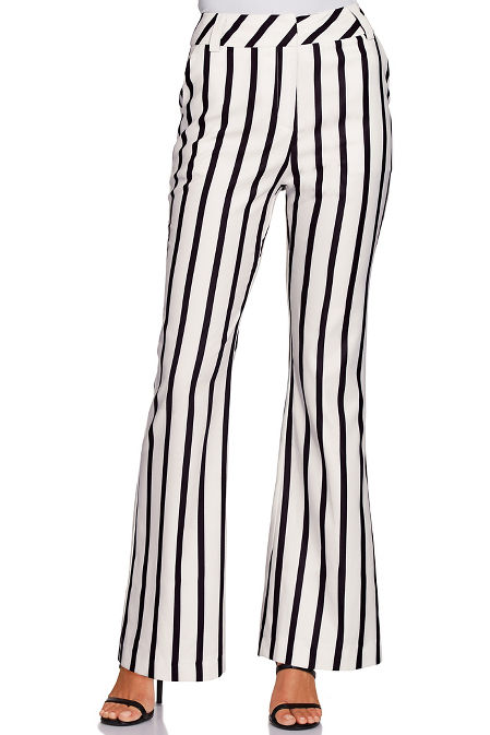 Stripe trouser image