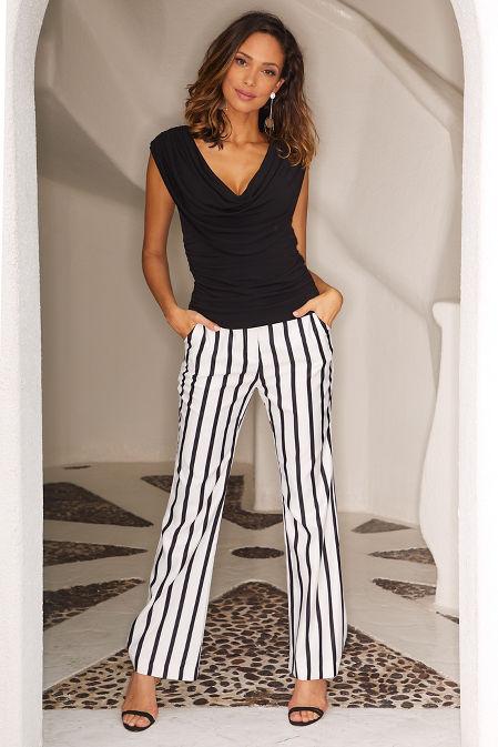 Stripe trouser image
