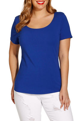 So Sexy™ cap sleeve scoop tee