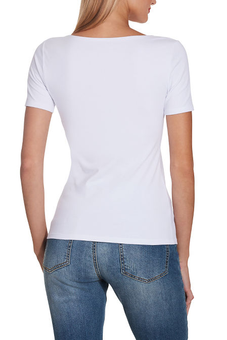 So Sexy™ cap sleeve scoop tee image
