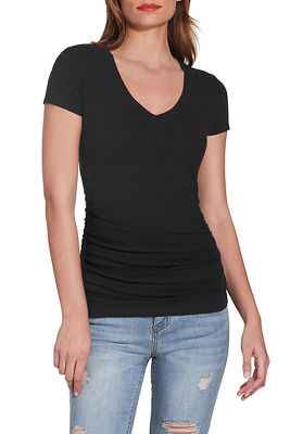 So Sexy™ short sleeve ruched tee
