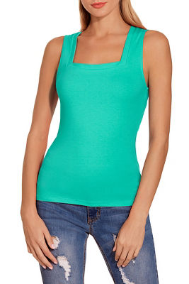 So Sexy™ square neck tank top