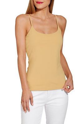 Scoop neck cami