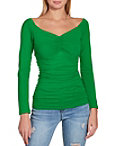 So Sexy™ Ruched Front Off The Shoulder Top Photo