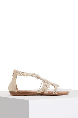boho woven sandal