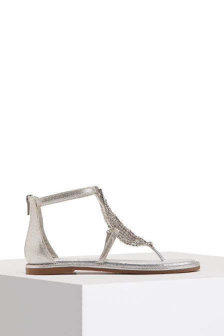 Chainmail sparkle sandal image