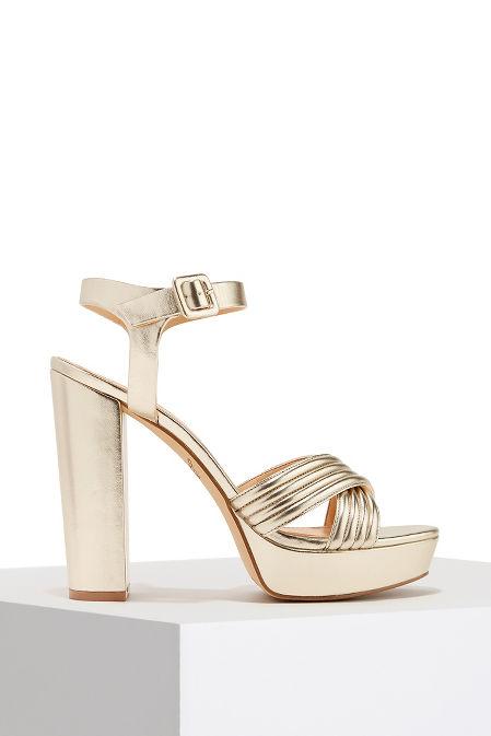Platform metallic heel image