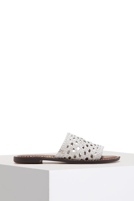Woven slide sandal image