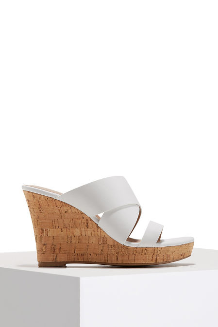 Cork slip on wedge image