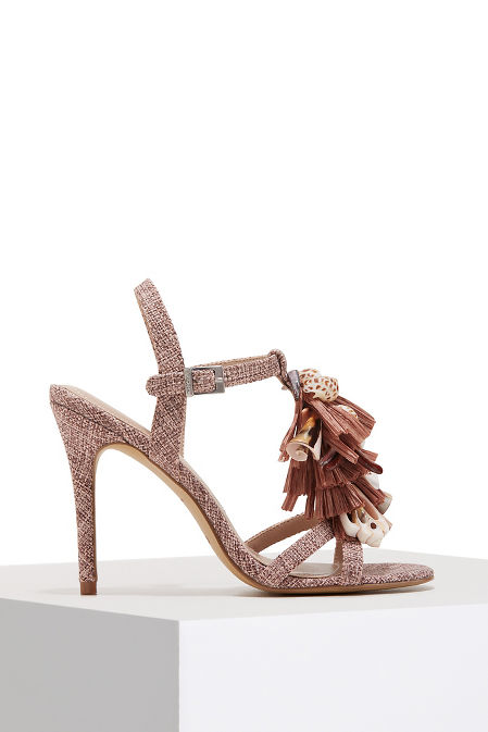 Shell and straw heel image