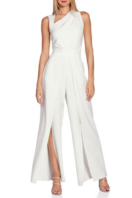 Display product reviews for Angled slit leg jumpsuit