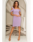 Asymmetric One Shoulder Sheath Dress Photo