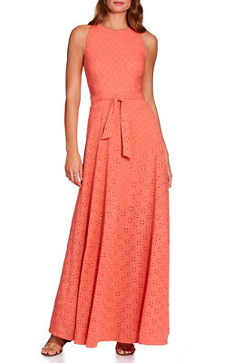 Display product reviews for Eyelet tie waist maxi dress